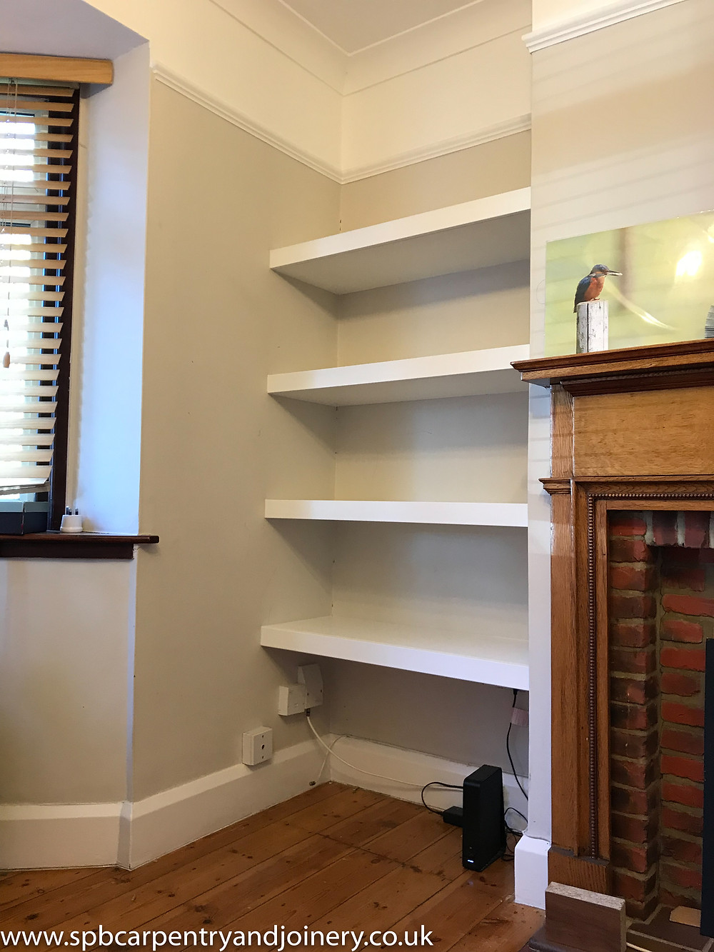 Floating Alcove Shelves Oxford