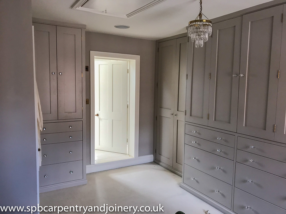 Shaker Wardrobe Fitted by SPB Carpentry & Joinery
