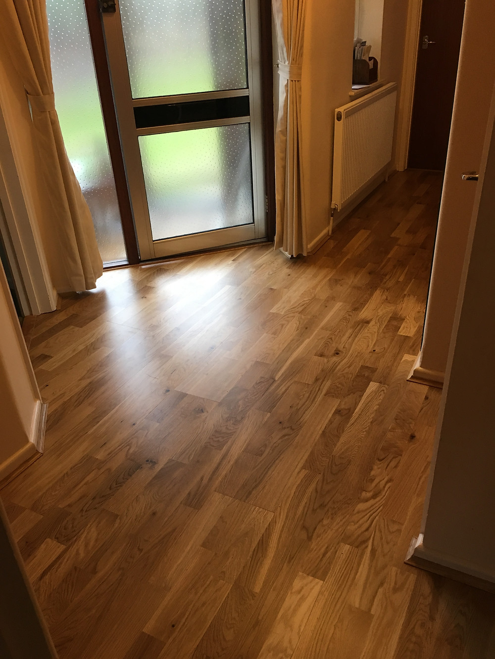 Engineered oak flooring in Farmoor