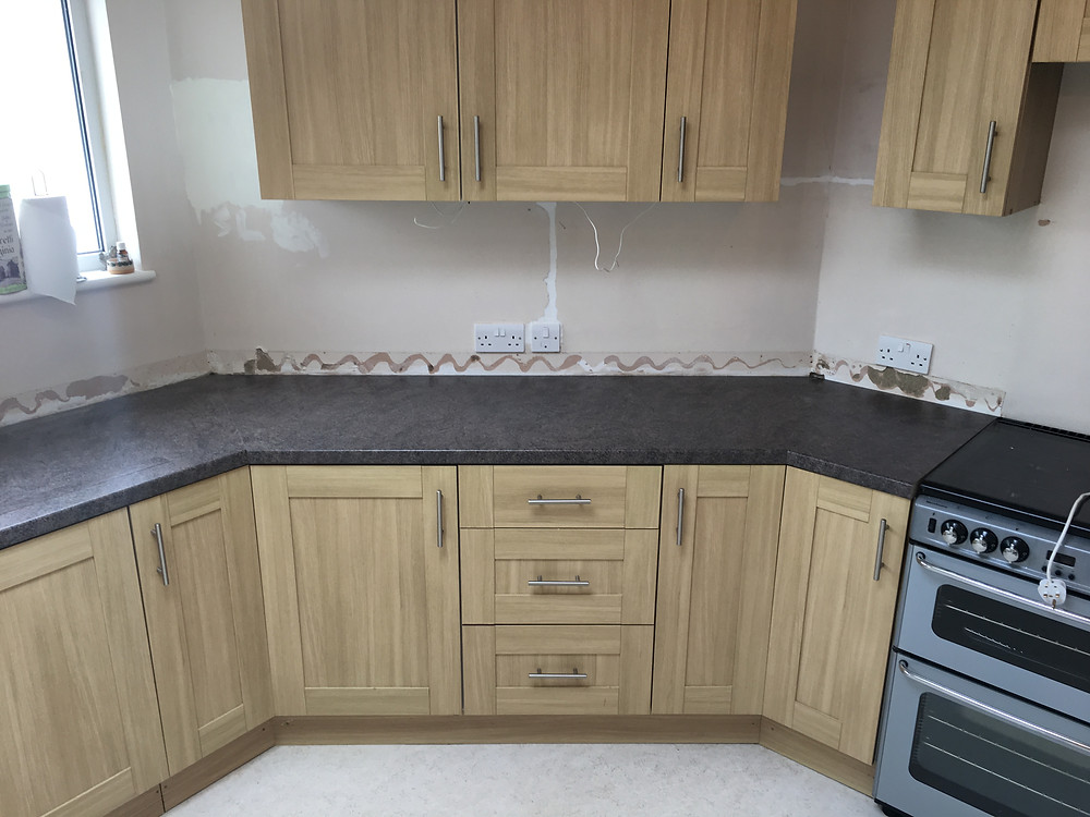 Replaced worktops in Oxford
