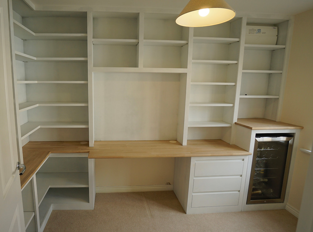 Bespoke fitted home office Southmoor