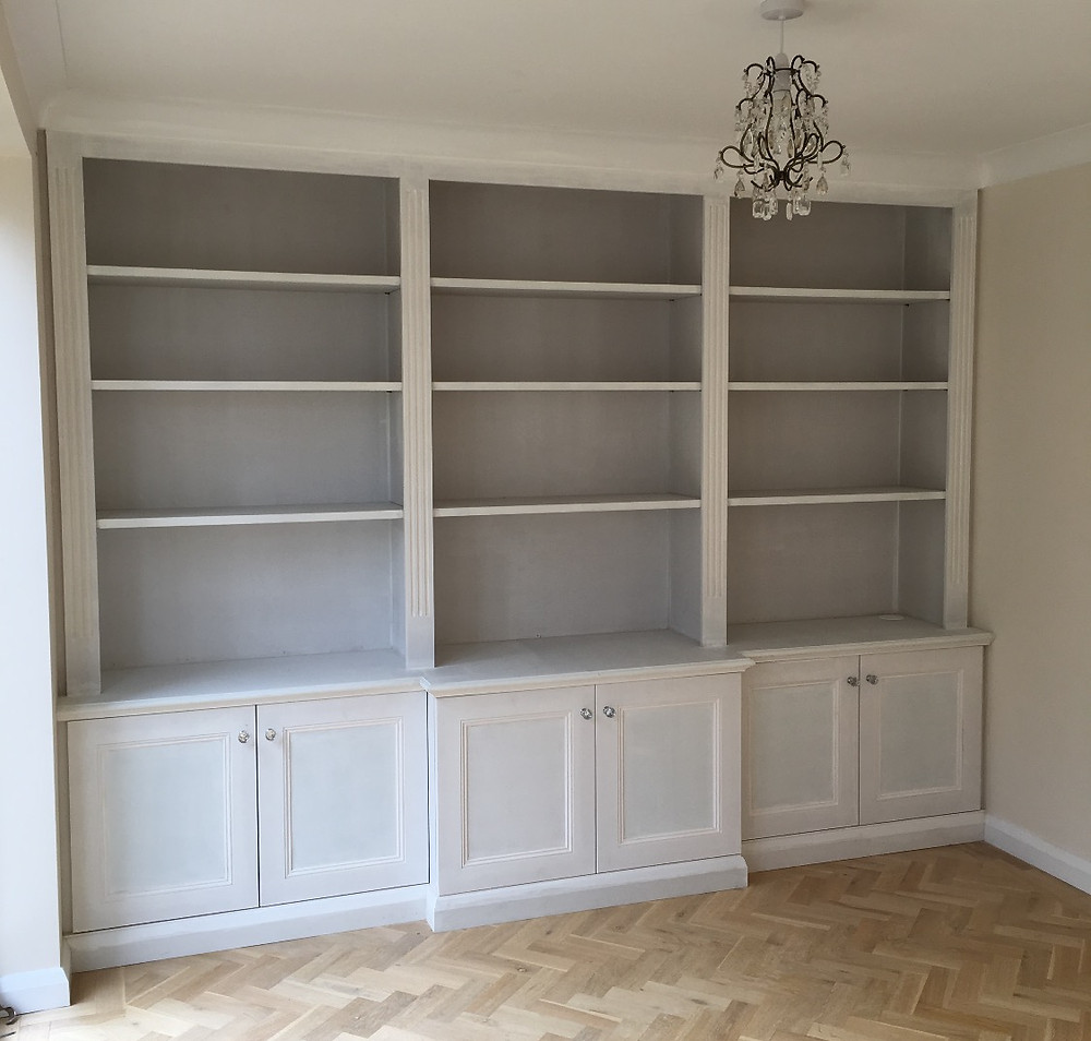 Bespoke cabinet fitted in Summertown