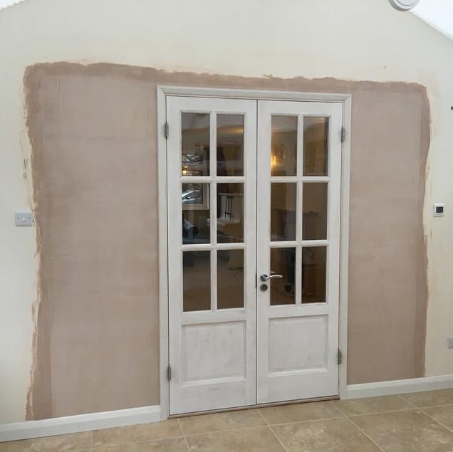 New French doors In Summertown