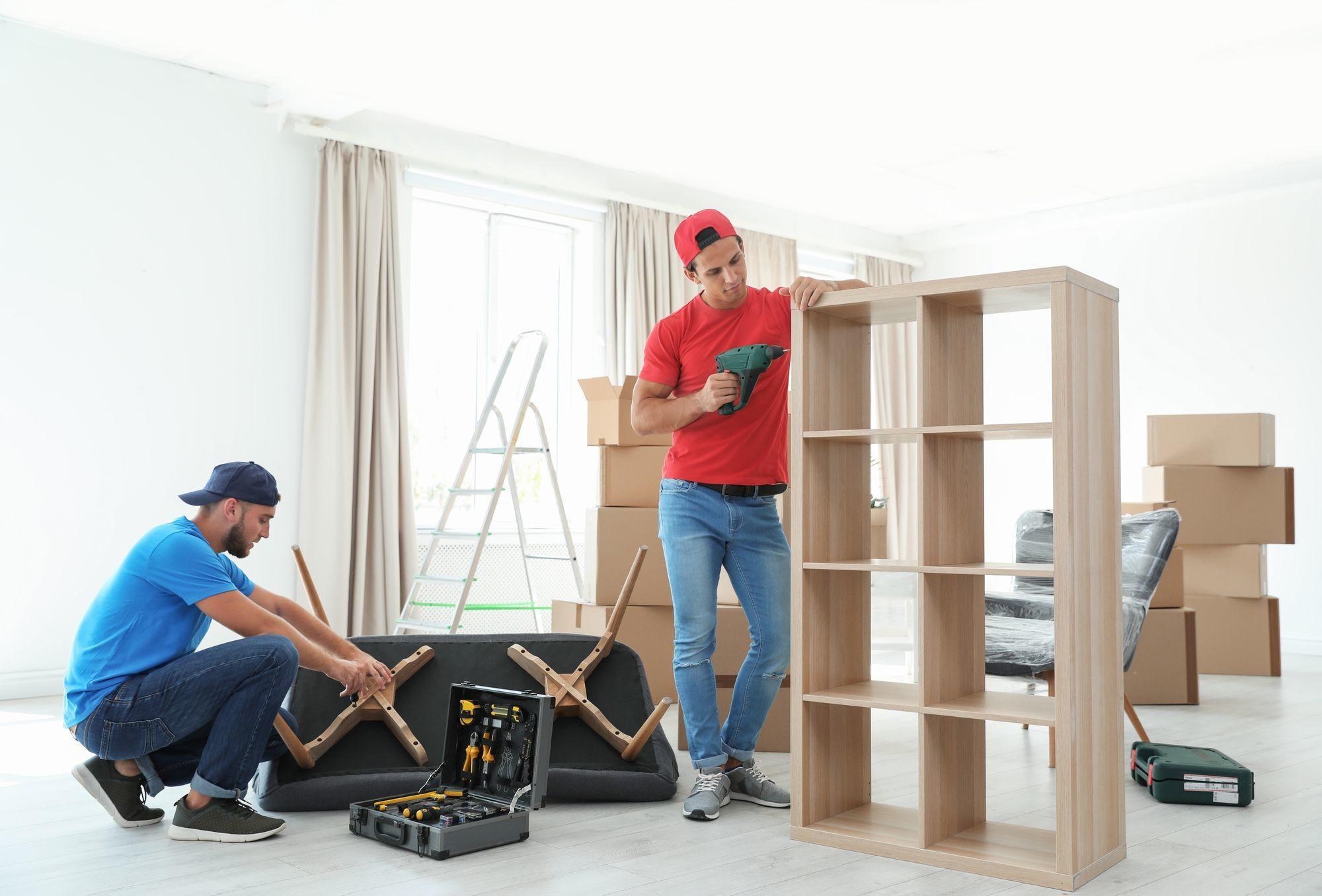 Разборка\Сборка мебели