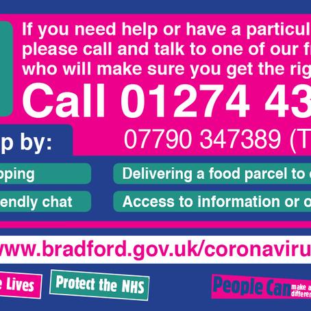 Coronavirus - Do You Need Help?
