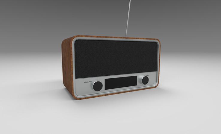 radio 3d model free