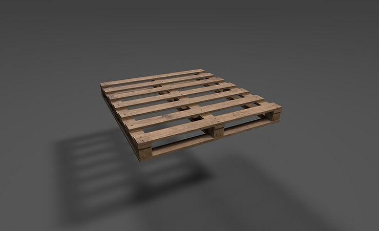 pallet 3d model free