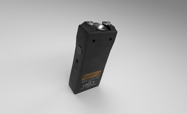 stun gun free 3d model