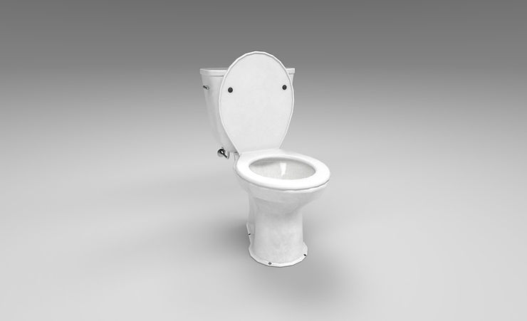 toilet 3d model free download