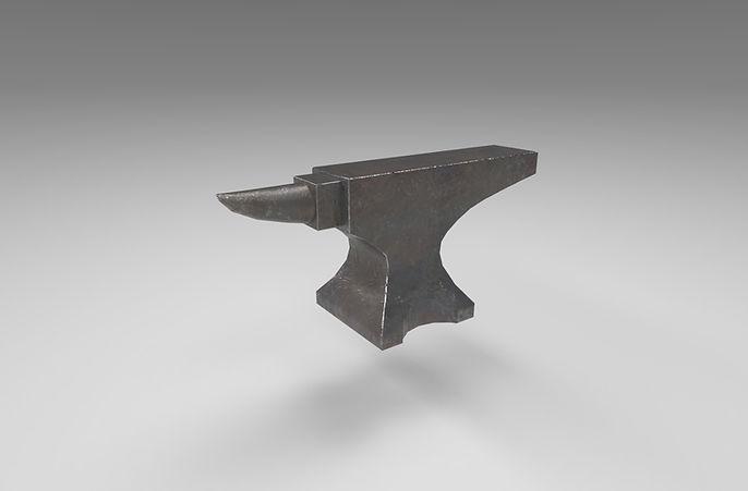 anvil 3d model free