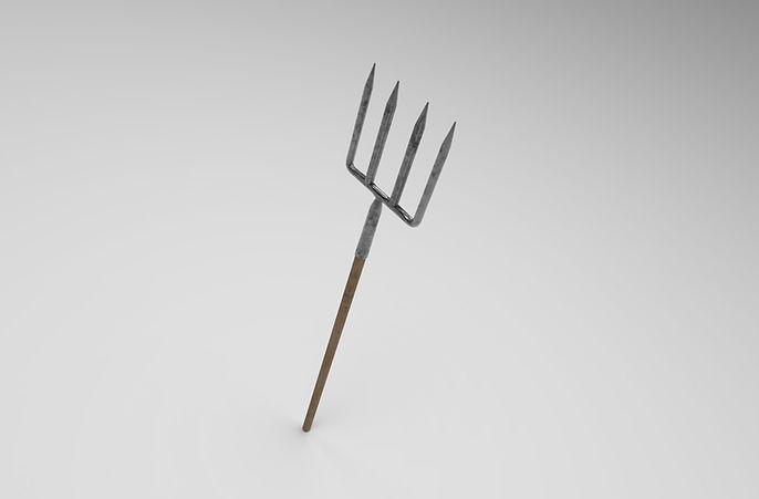 pitchfork 3d model free