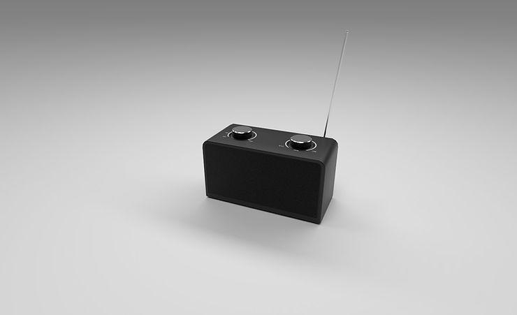 CC0 3D Models || small radio 3d model free