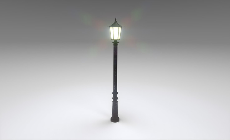 street light 3d model free download