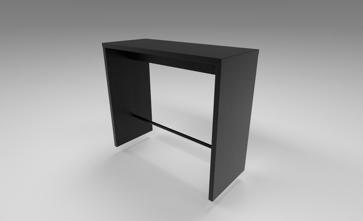 bar table 3d model free download