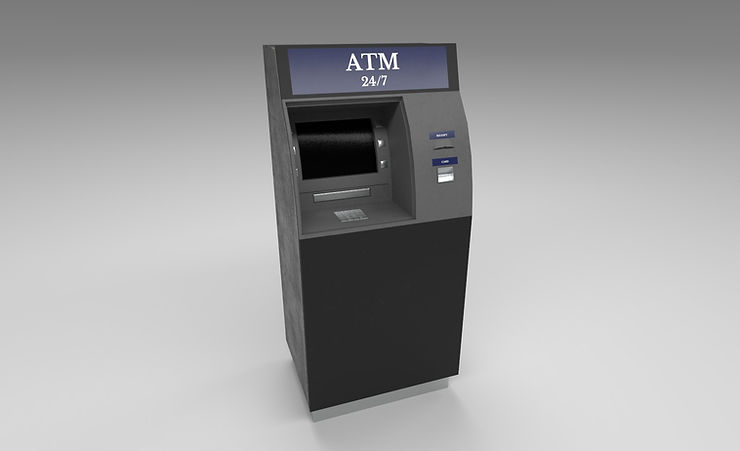 atm 3d model free