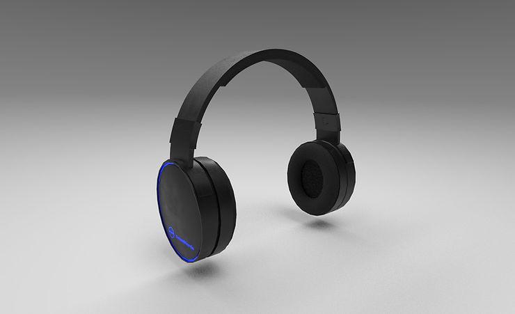 headphones 3d model free download