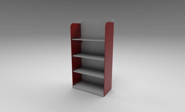 store shelf 3d model free