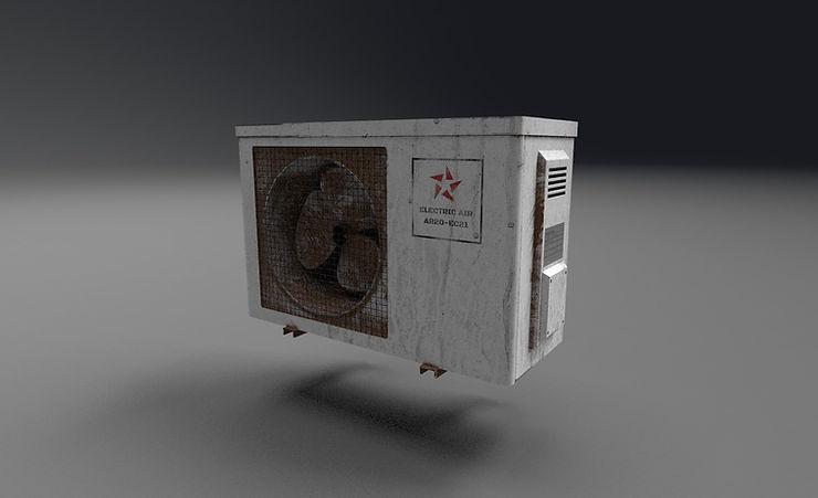 ac unit 3d model free download