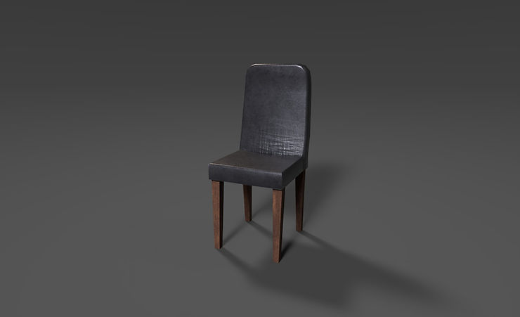 leather chair 3d model free download