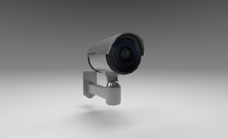 security camera 3d model free download