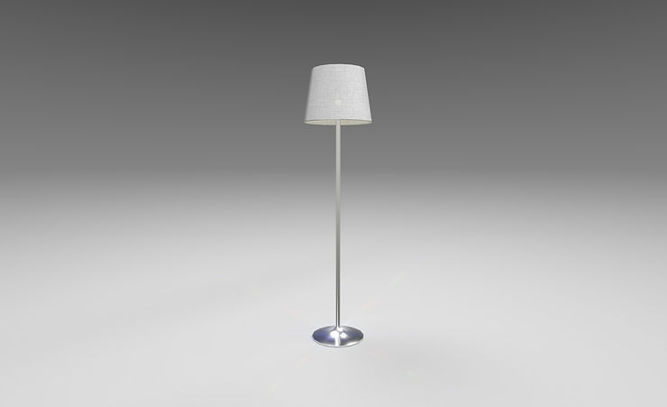 old-fashioned floor lamp 3d model free download