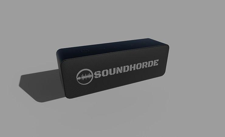 wireless speaker 3d model free