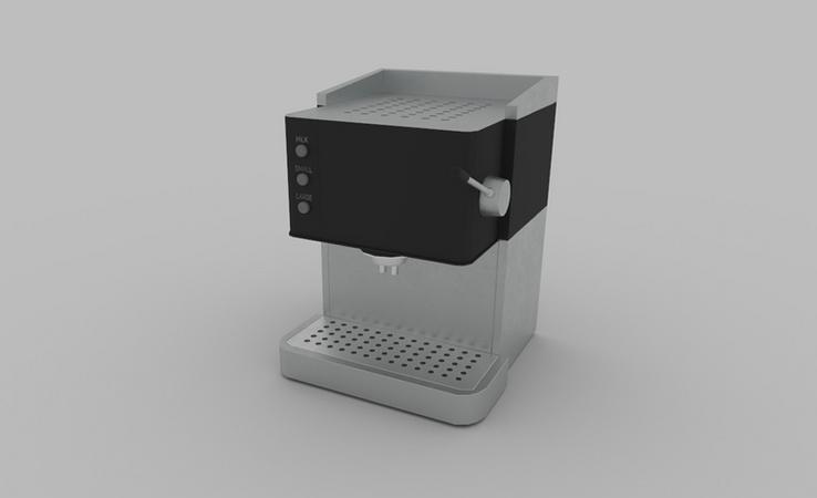 coffee machine 3d model free