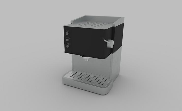 CC0 3D Models || coffee machine 3d model free