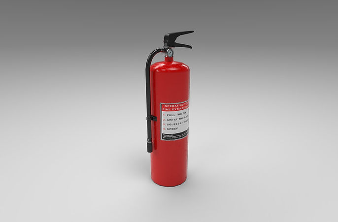 fire extinguisher 3d model free