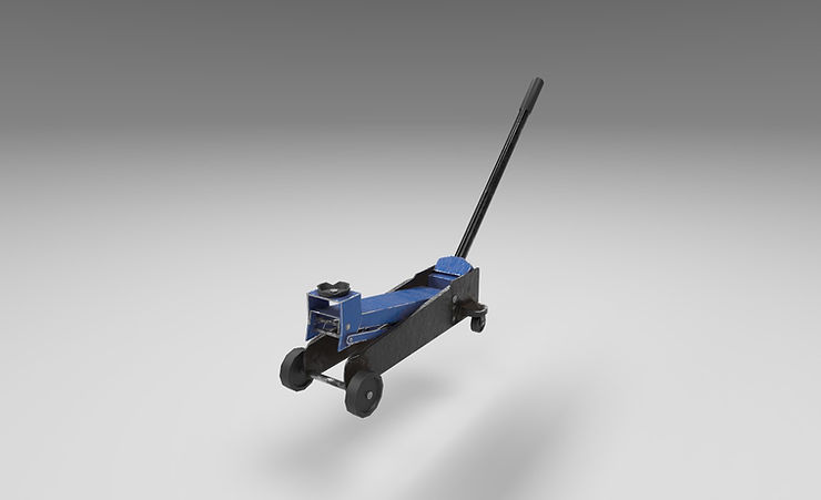 car jack 3d model free download