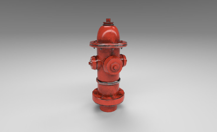 fire hydrant 3d model free download