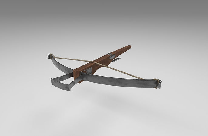 medieval crossbow 3d model free