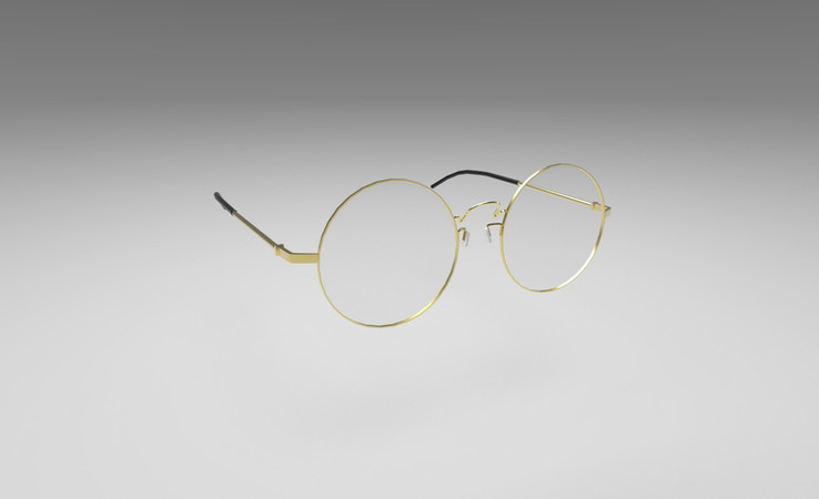 free glasses 3d model
