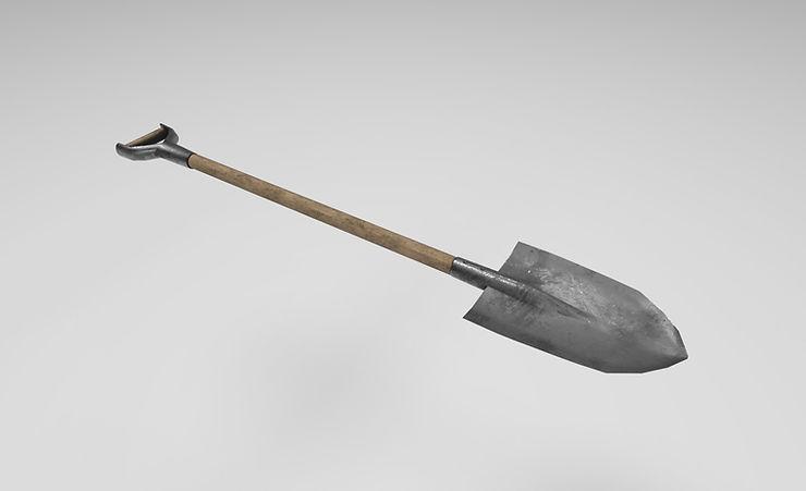 spade 3d model free