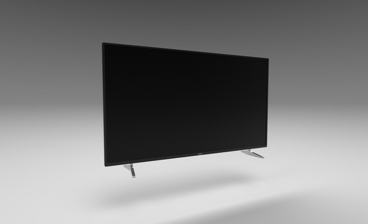 flat screen tv 3d model free