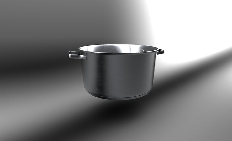kitchen pot free 3d model