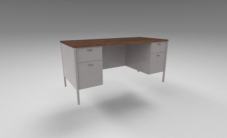 office desk 3d model free download