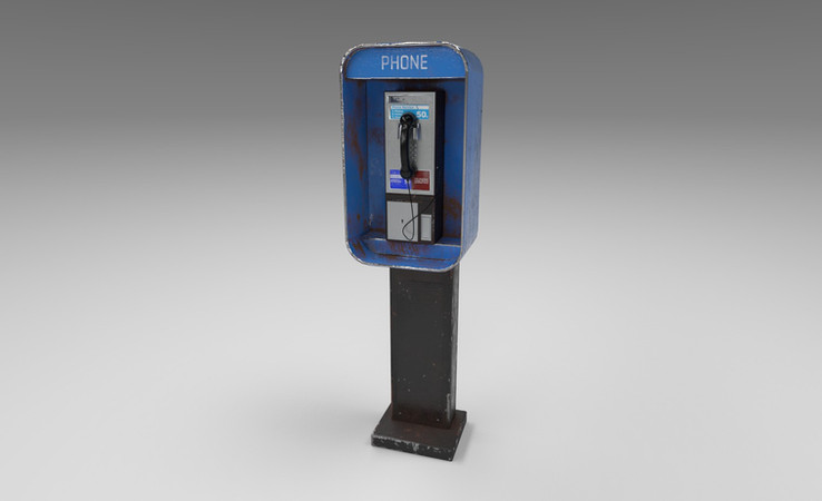 payphone 3d model free download