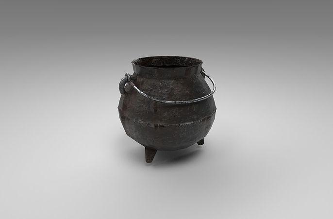 cauldron 3d model free