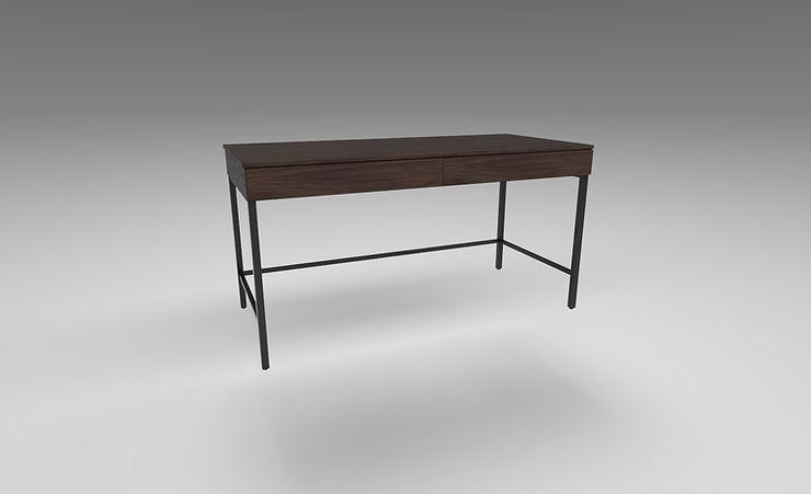 wooden desk 3d model free