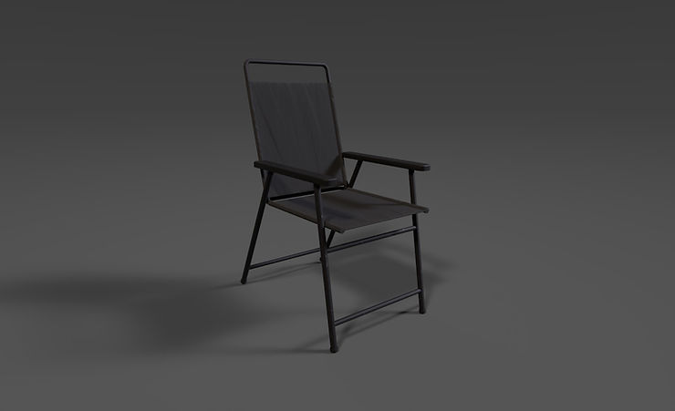 outdoor chair 3d model free