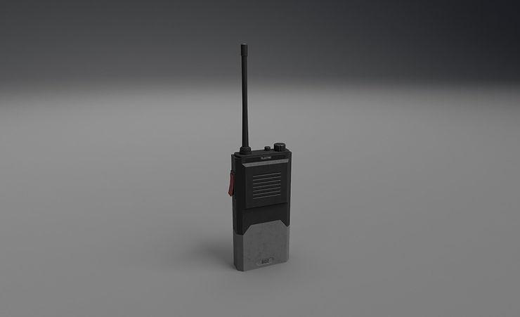 walkie-talkie 3d model free