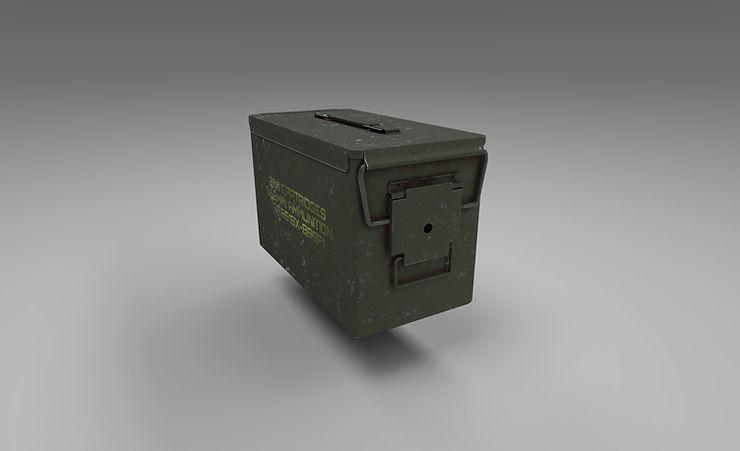 ammo box 3d model free