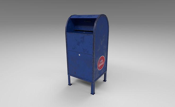 mailbox 3d model free download