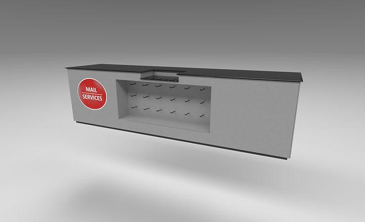 store desk free 3d model