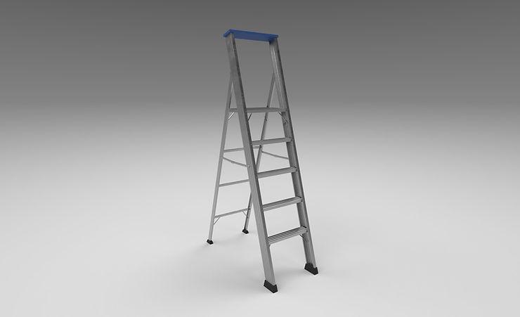 step ladder 3d model free
