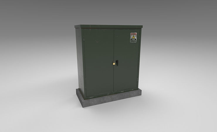 CC0 3D Models || Electrical box 3d model free download