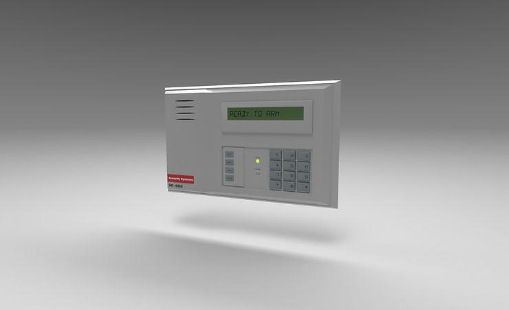 alarm keypad 3d model free download