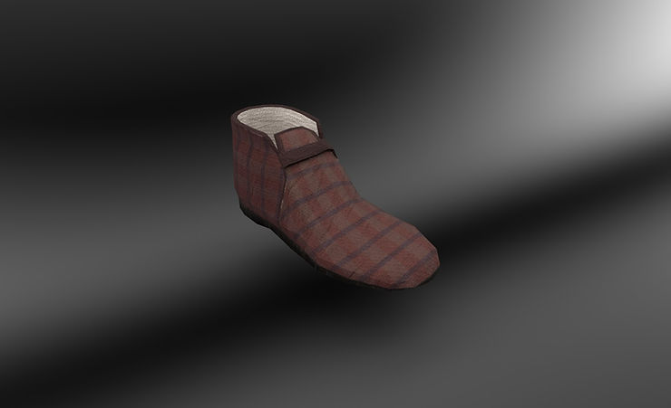 slipper 3d model free download