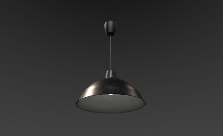 3d ceiling light free download